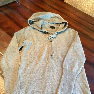 J. Crew cashmere hooded sweater